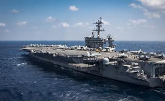 """Япония начала совместные учения с американским авианосцем """"Карл Винсон"""": СМИ"""