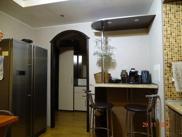кухня дверной портал