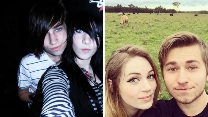 До и после: 7 фото о том, как взрослеют эмо