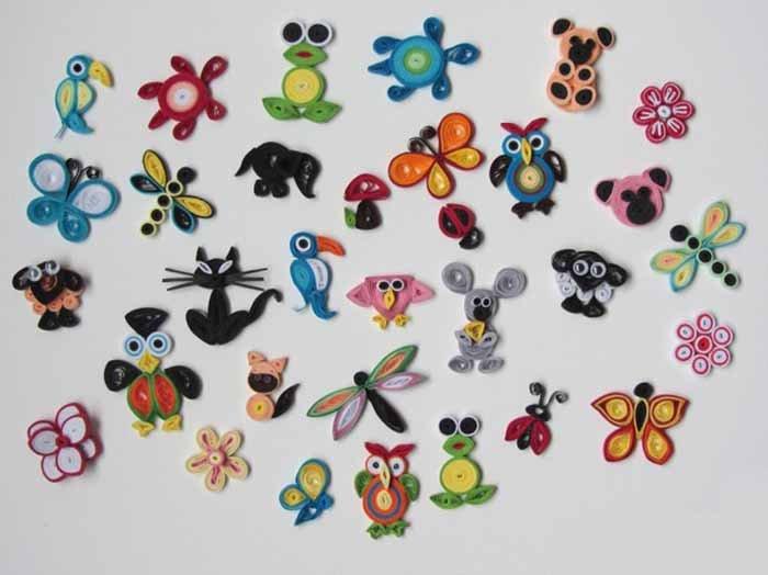 Красивые поделки из квиллинга для детей - фото 35
