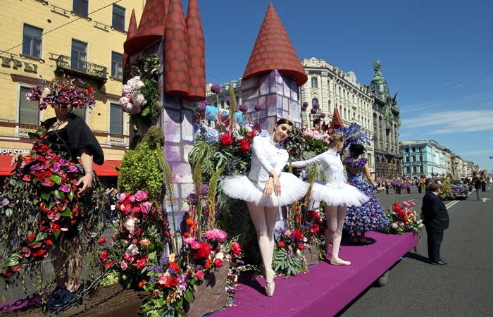 Самые необычные парады России