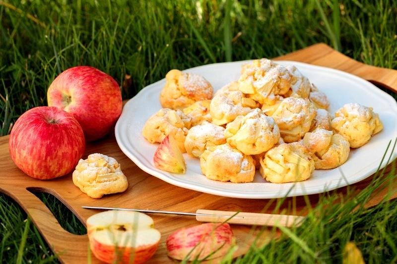 Нежное яблочное печенье за полчаса