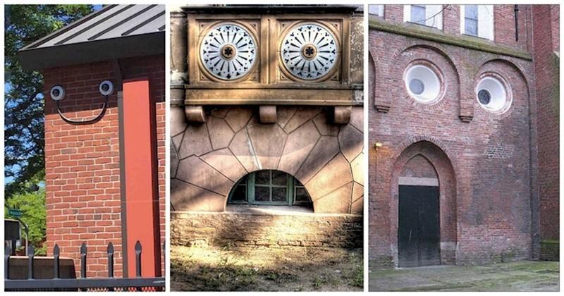 Дома с глазами и непростым характером: 20 оживших зданий