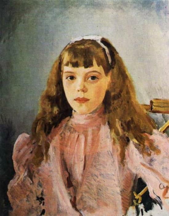 В. Серов. Портрет великой княжны Ольги Александровны, 1893 | Фото: liveinternet.ru