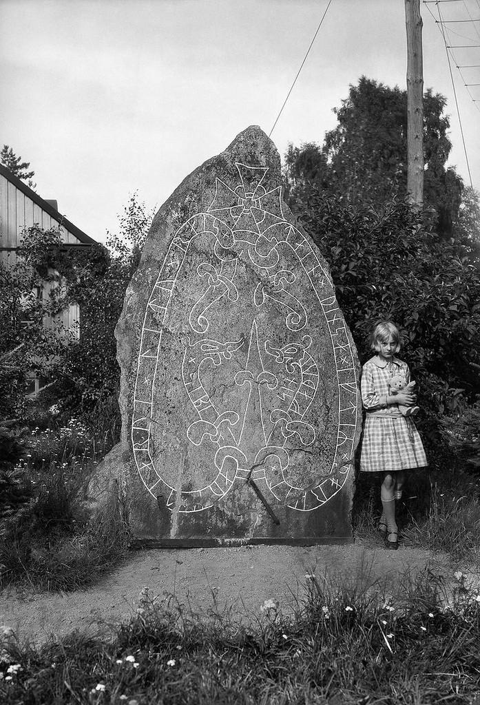 Древние руны в Швеции