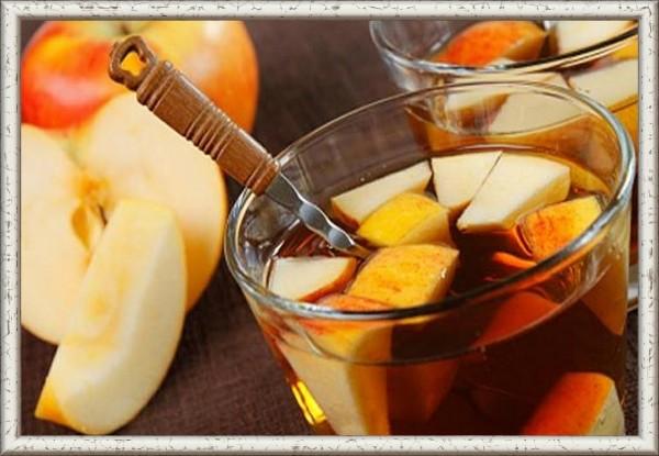 Чай яблоко с корицей рецепт