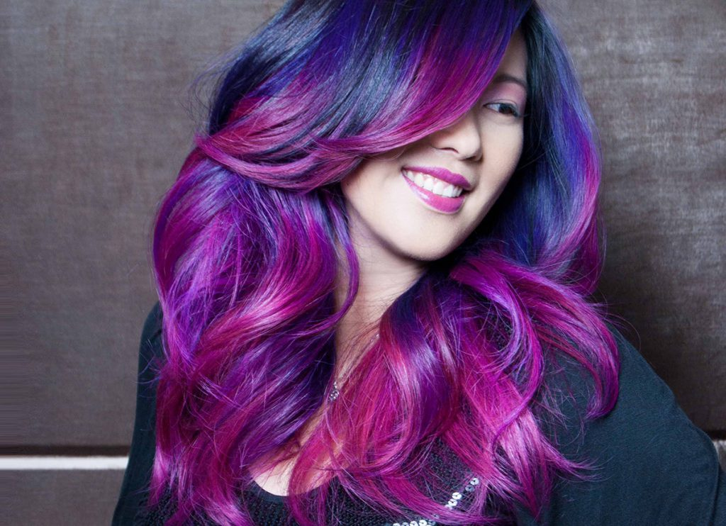 40 Vivid Ideas for Black Ombre Hair  The Right Hairstyles
