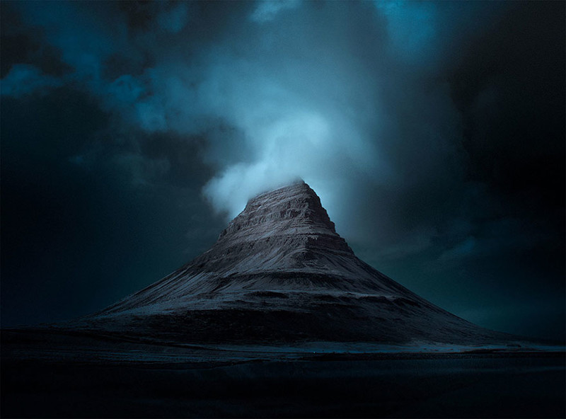 14. Киркьюфелл виды, исландия, красота, фото