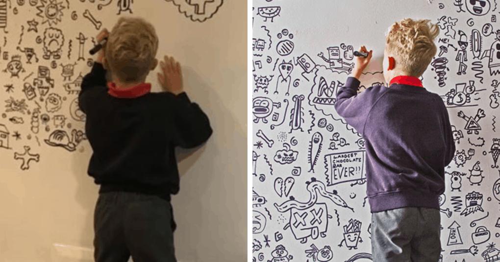 9-летний мальчик был наказан за рисования на стенах школы. Однако, как раз это и помогло стать ему знаменитым
