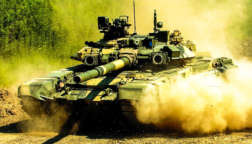 Реванш Т-90: сирийцы засняли работу русских танков в Восточном Алеппо