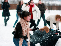 Традиционные русские зимние забавы