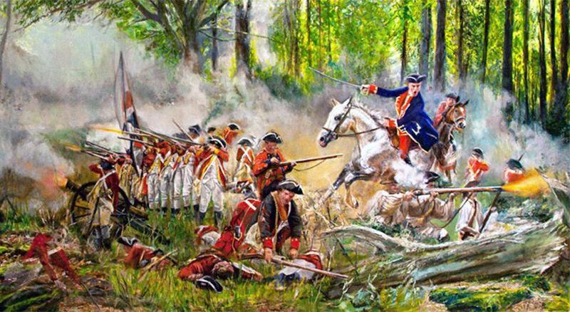Как Джордж Вашингтон не стал офицером британской армии