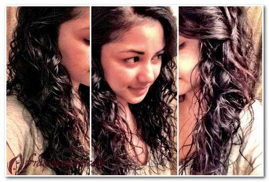Как сделать кудрявые волосы с мокрым эффектом
