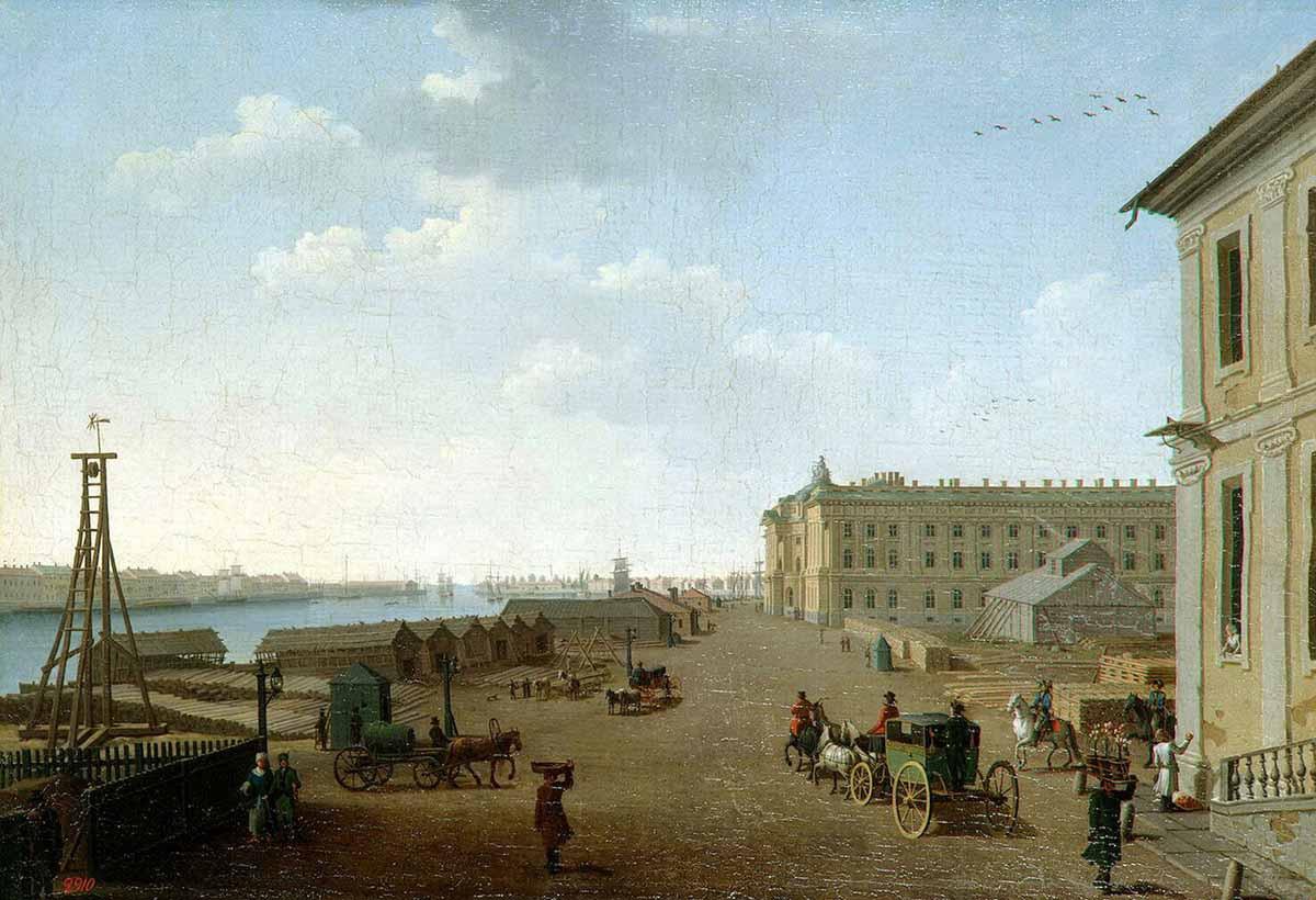 Петербург и Москва: новая столица против старой