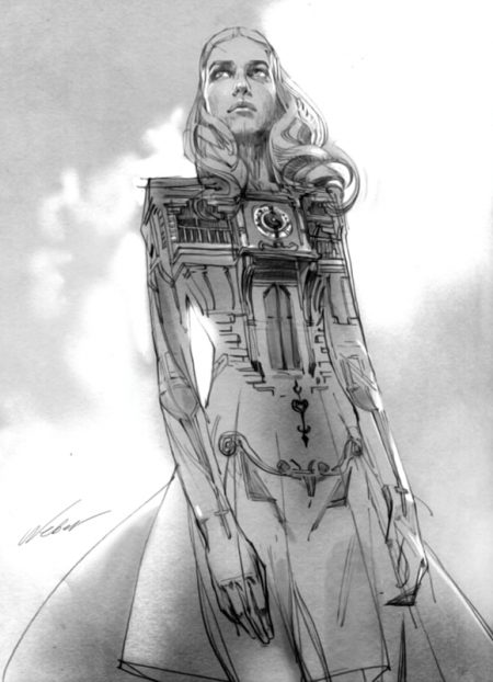 художник Zhang Weber графика – 13