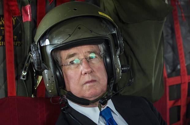 Г-н Фэллон, и где же ракетный удар по Украине?..