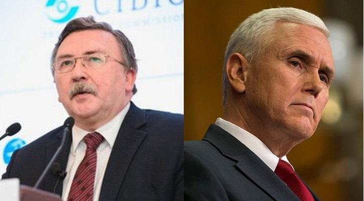 В МИД России ответили на обвинения Пенса в невыполнении обязательств по химоружию