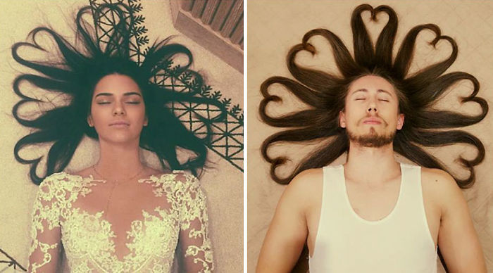 Radiologist Hilariously Recreates Celebrity Photos To Raise Money For Cancer Patients
