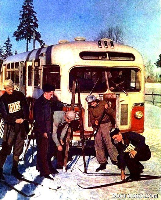 Зимние фотографии разных лет