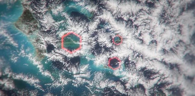 Ученые разгадали тайну Бермудского треугольника Во всем виноваты шестигранные облака.