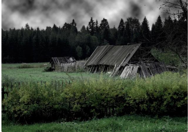 Кошмар из заброшенной деревни