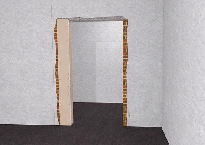 СтройРемПлан. Уменьшение дверного проема по ширине и высоте