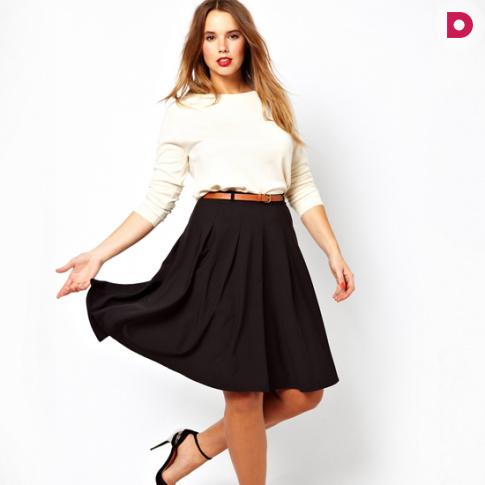 Мода для полных: важные советы как выбрать юбку