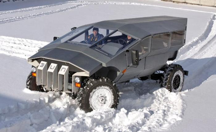 Легкобронированный вездеход ЗИЛ - российский ответ американскому Humvee