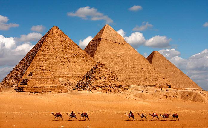 Внутренние помещения Великой пирамиды (фото)