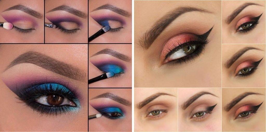 Как накрасить карие глаза?