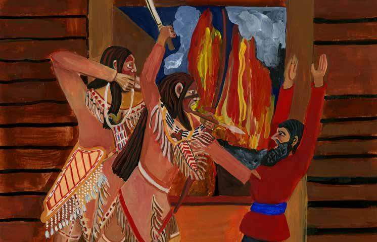 Индейцы Аляски, родившиеся  в 1900 году  ещё свободно говорили по русски