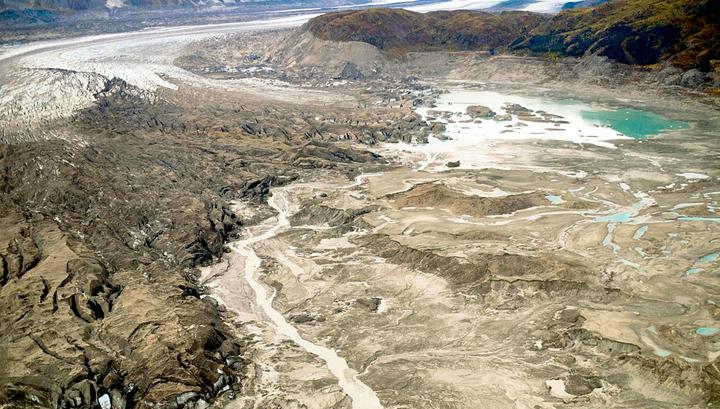 Экологи расследуют пропажу реки в Канаде.