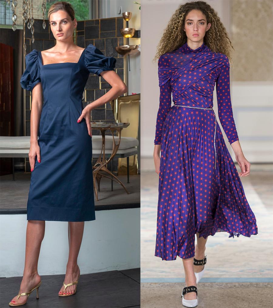 Стильные и скромные платья