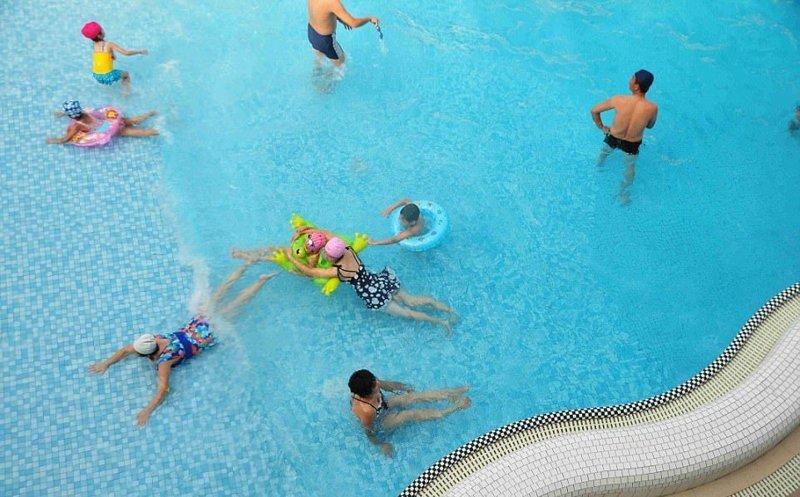 Аквапарк в Северной Корее глазами туриста из Израиля Израиль, аквапарк, кндр, развлечения, северная корея, турист