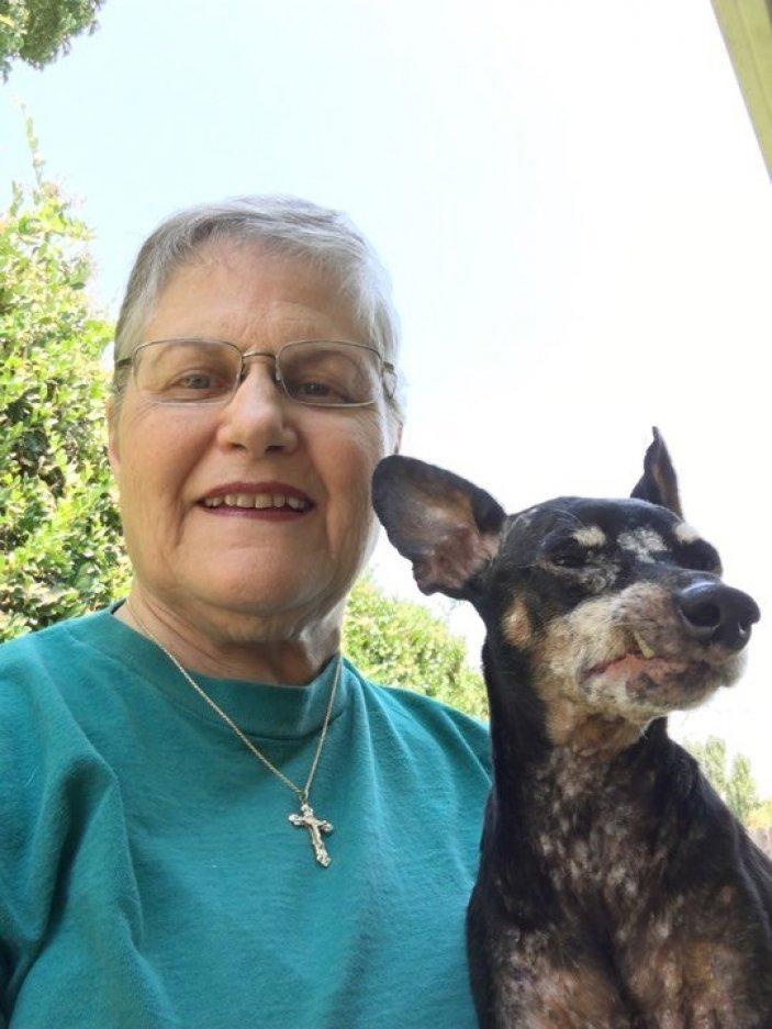 Одинокая женщина пришла в приют, попросила дать ей самую ненужную собаку