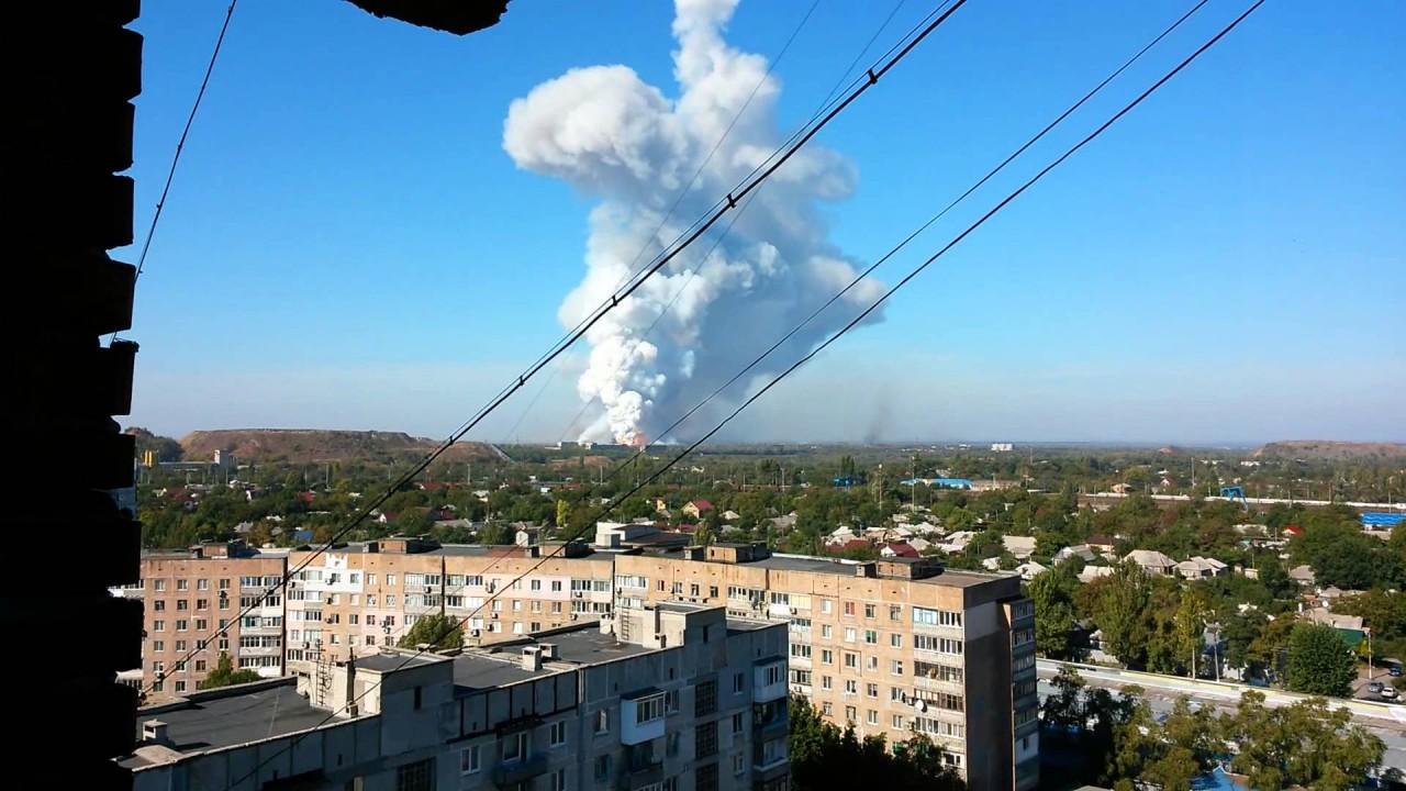 ВС Украины несколько часов обстреливали жилые дома в Донецке