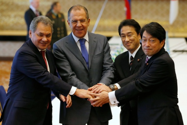 Япония передала России предложения посовместной деятельности наКурилах