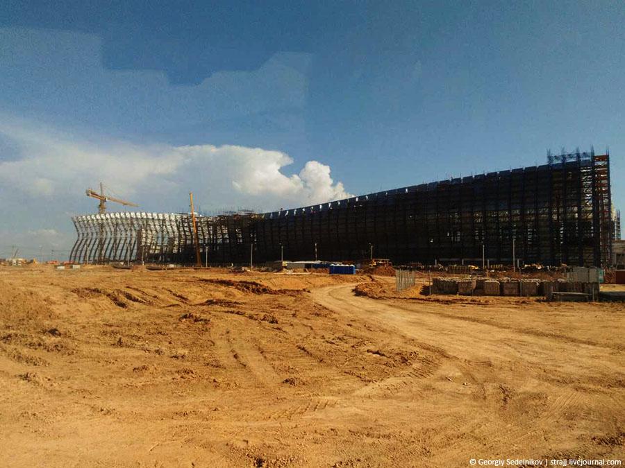 Строительство нового аэропорта «Симферополь» (фоторепортаж)