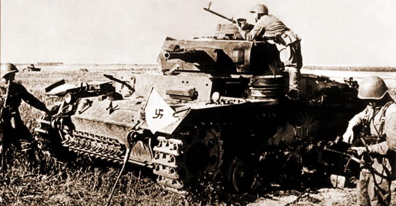 Танковые потери вермахта за …