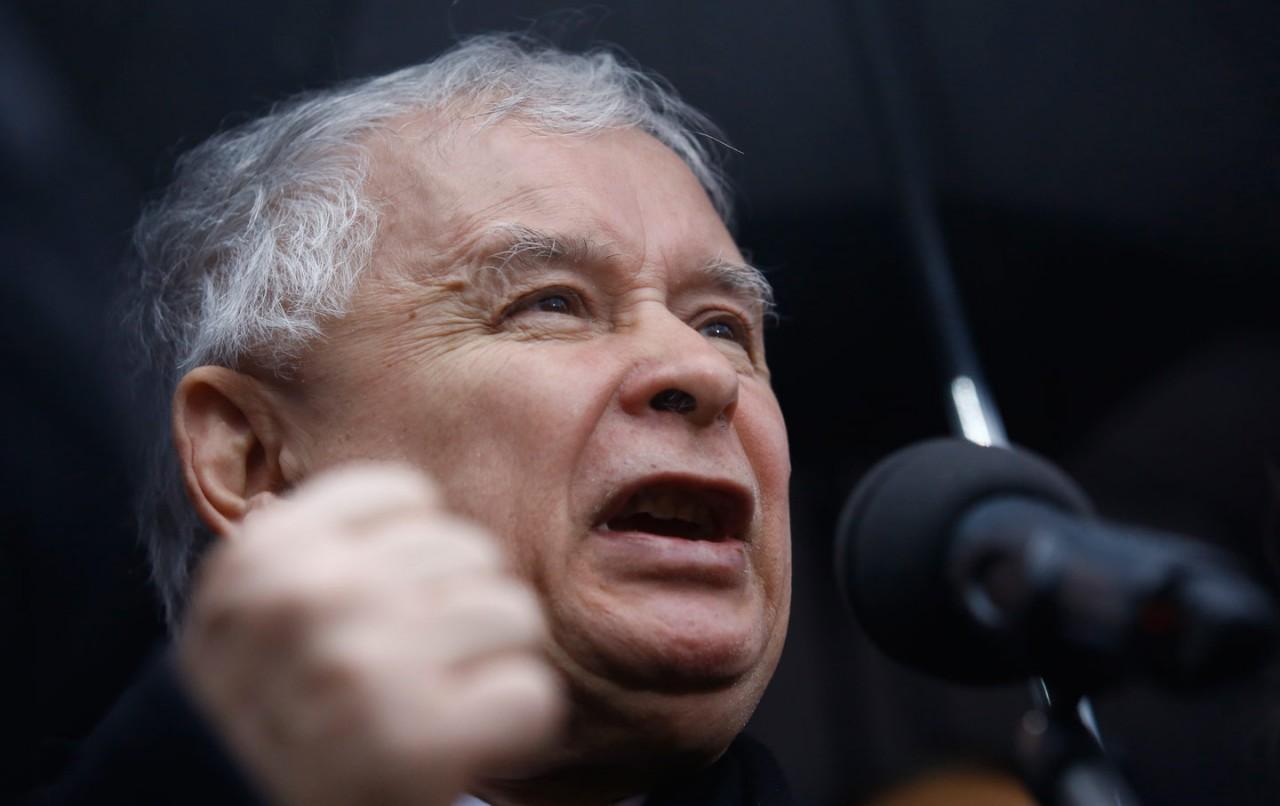 Качиньский обвинил Порошенко в хамской неблагодарности