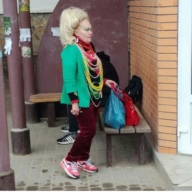 Это баба Зина, она имиджмейкер деревенская романтика, деревня, село, смешно, технологии, фото