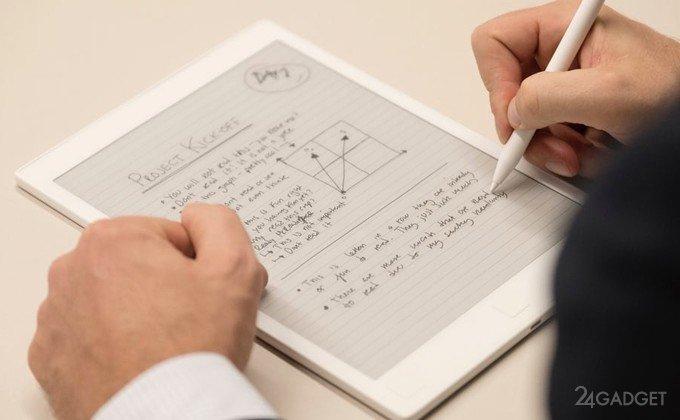 Электронный блокнот reMarkable, заменяющий бумагу