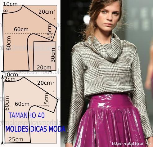 Моделирование: блузки, футболки