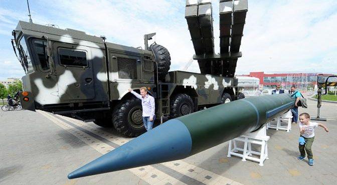 Белорусский «Искандер» может перелететь на Украину