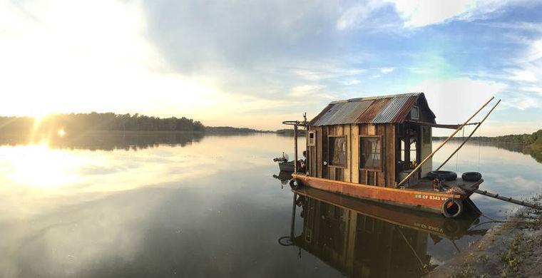 совершите воображаемое путешествие на лодке от смоленска