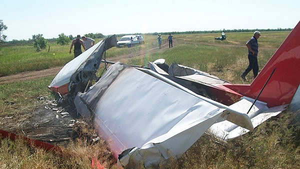 ВСтавропольском крае упал легкомоторный самолет— погибли двое