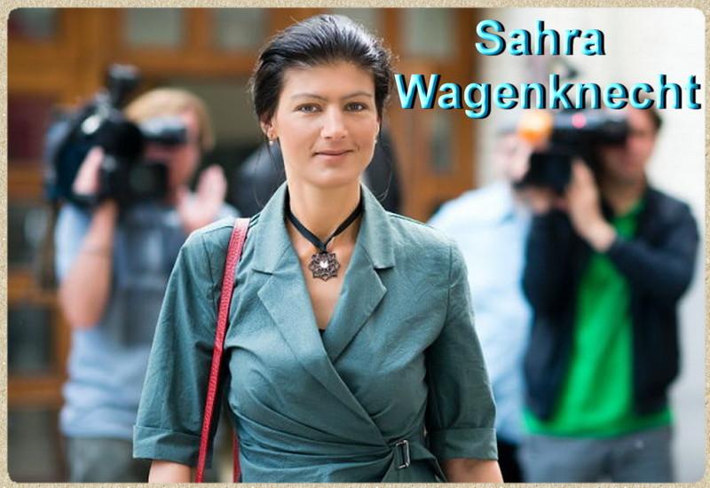 «Русский урок» Ангеле Меркель от Сары Вагенкнехт!