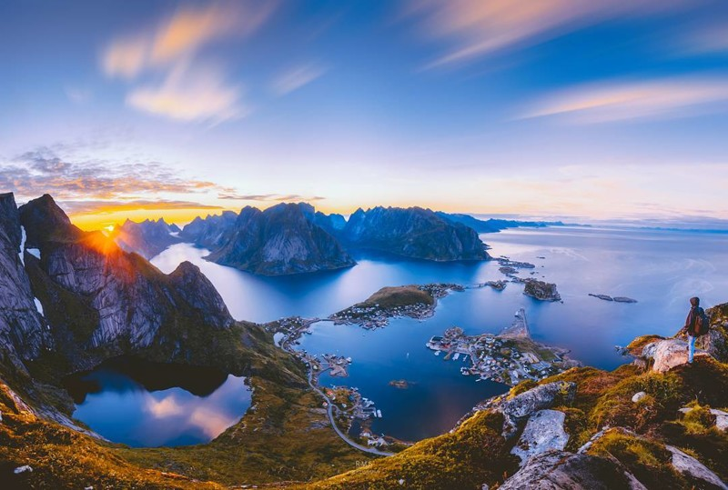 21-летний фотограф показал всю красоту и величие природы Норвегии
