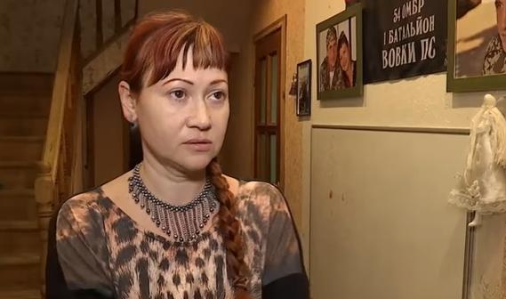 Продавщица из Днепропетровска избила жену погибшего «бойца АТО» (видео)