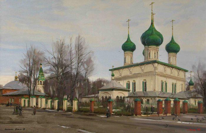 художник Евгений Борисович Молев картины – 15